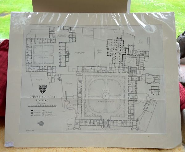 Christ Church  Oxford - College Plan